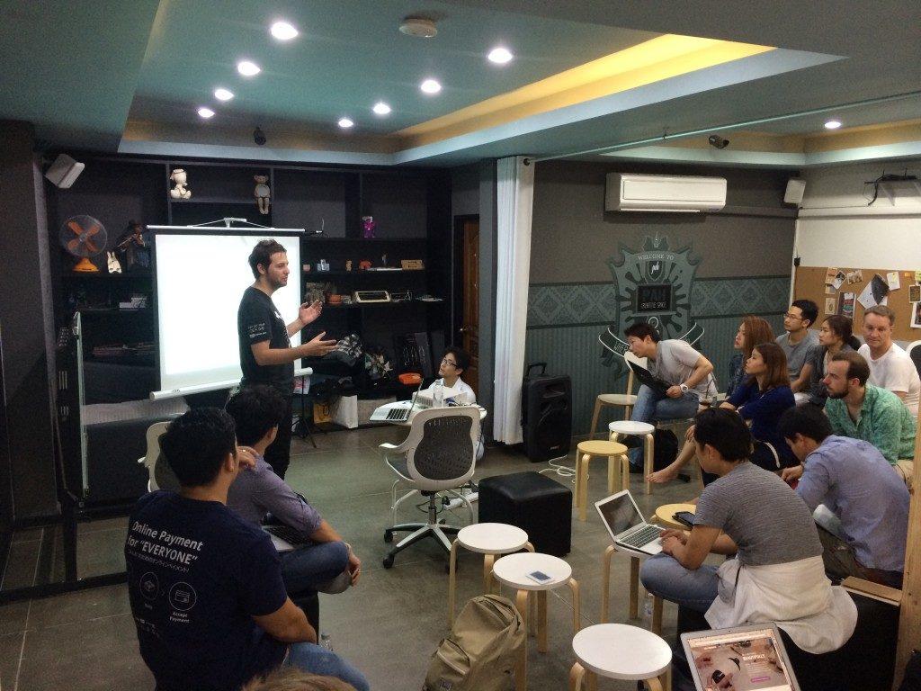 2014年にバンコクで実施したWooCommerceについてのイベントの様子