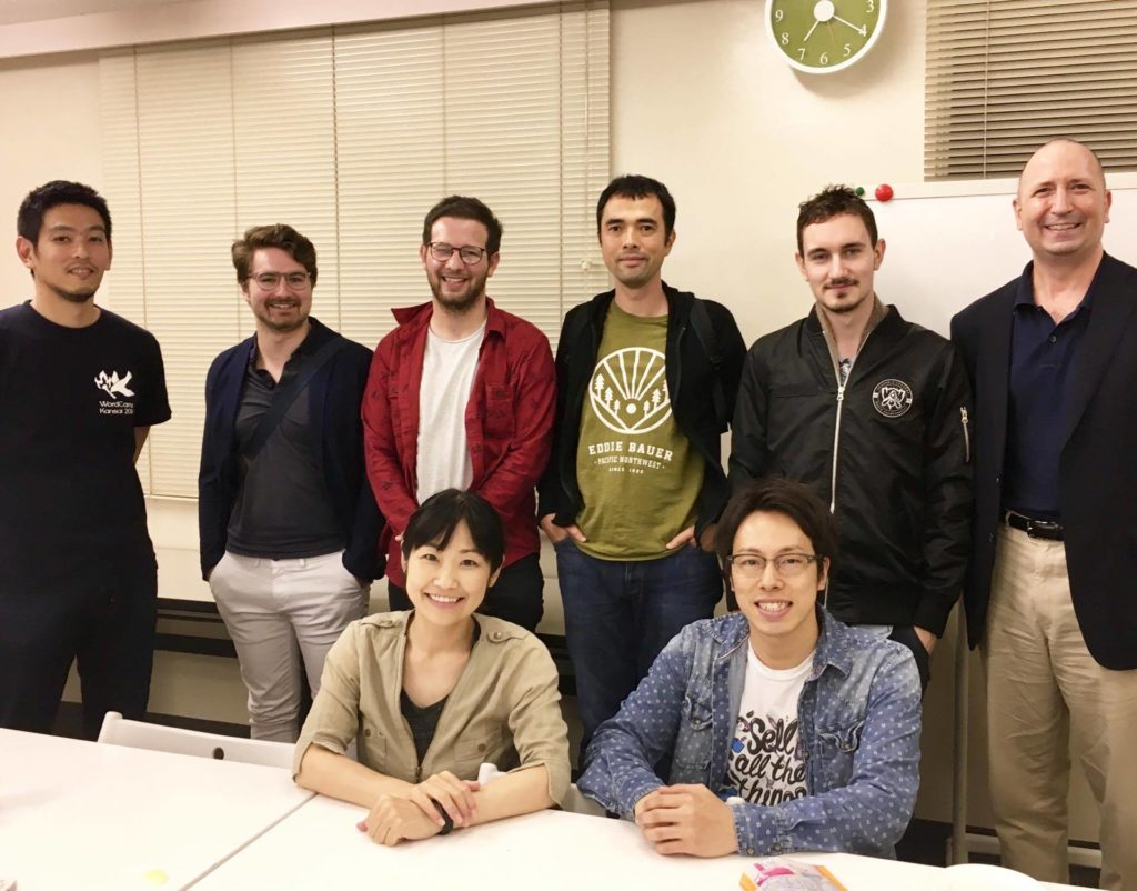 WordPress Meetup #34参加者のグループフォト