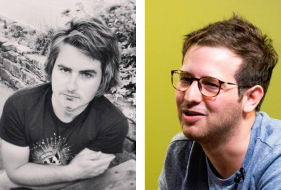 左: Joe Hoyle 右: Bryce Adams